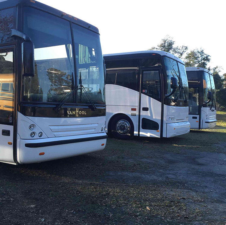 Coach Bus Rentals Charleston SC
